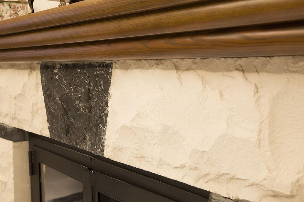 Chimenea rustica de ladrillo ladrillo visto en interiores - Chimenea rustica de ladrillo ...