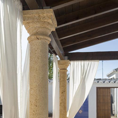 Columnas de arenisca