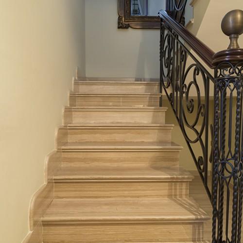 Escalera serperggiante